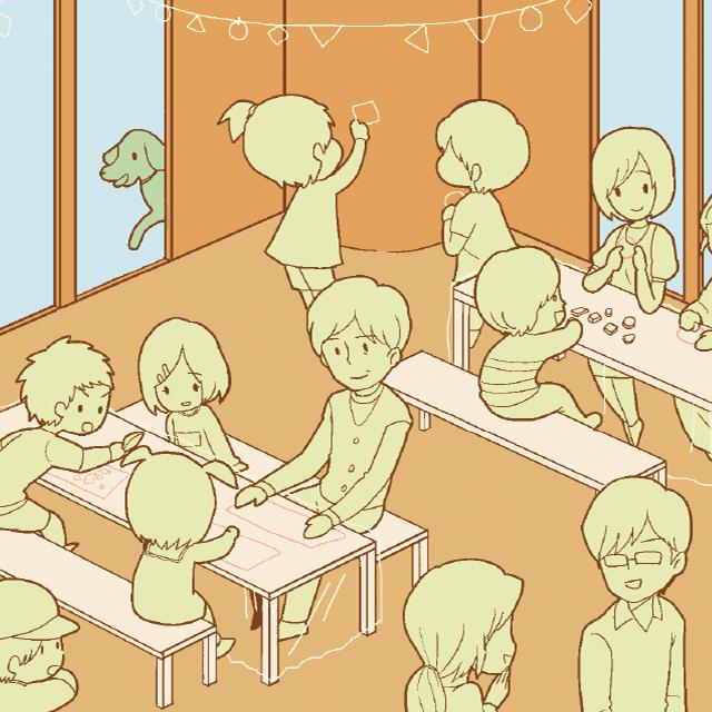 """""""つくる"""" カフェ プロジェクト!"""