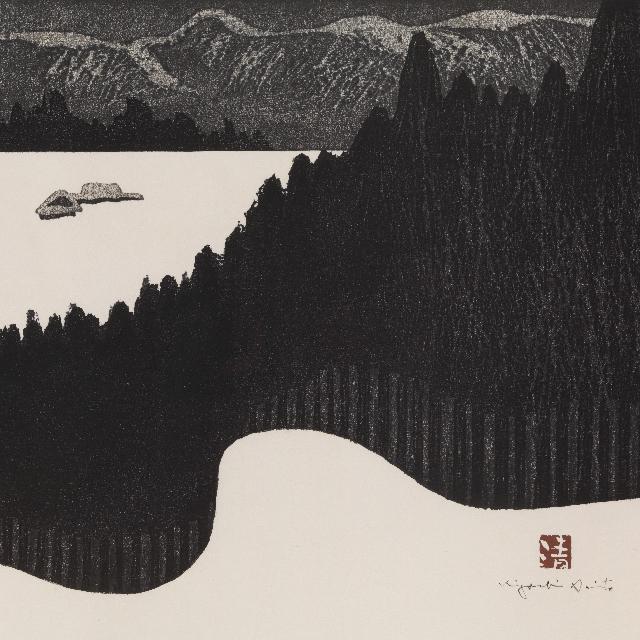 会津の冬〜白からはじまる「ふぶく日のシルエット」展。