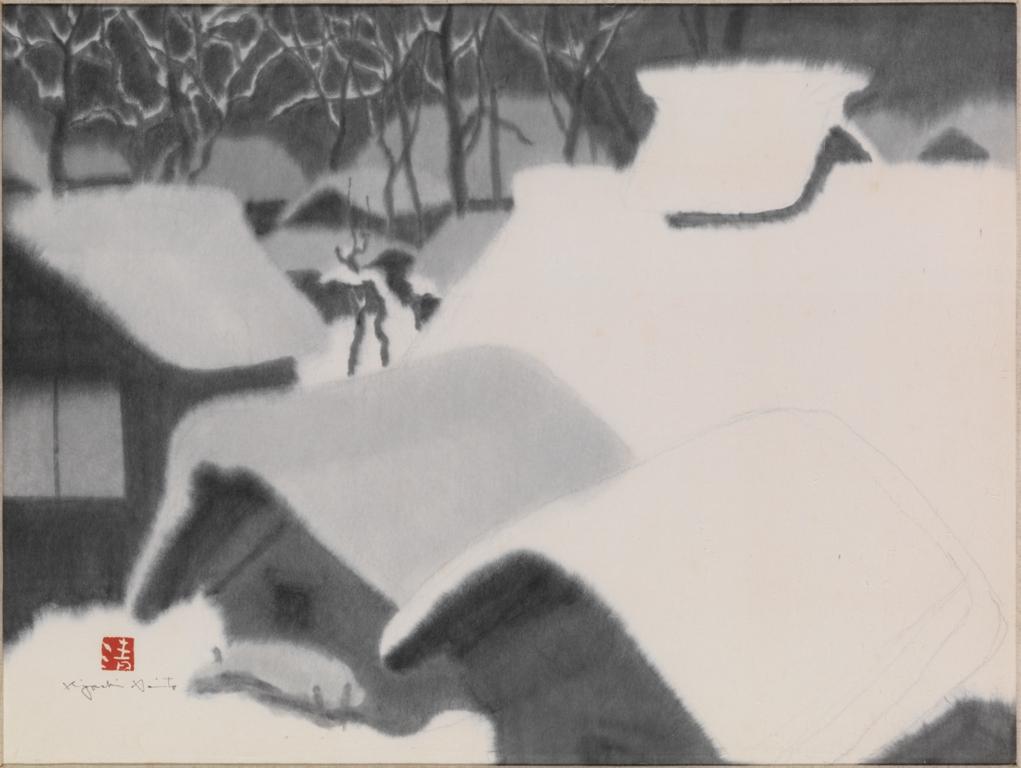 SUMI 斎藤清の墨画展
